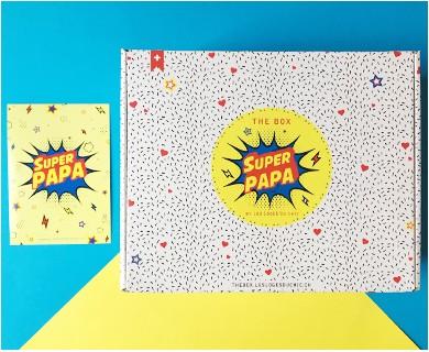 "The ""SUPER PAPA"" Box seule"