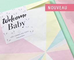 Pochette WELCOME BABY